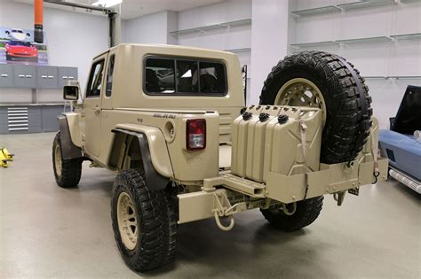 military jeep front the jeep wrangler commando is ready for war and peace