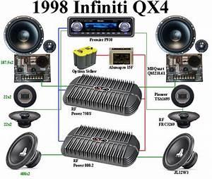 Infiniti Qx4 Radio Wiring  Infiniti Qx4 99 1999 Car Stereo