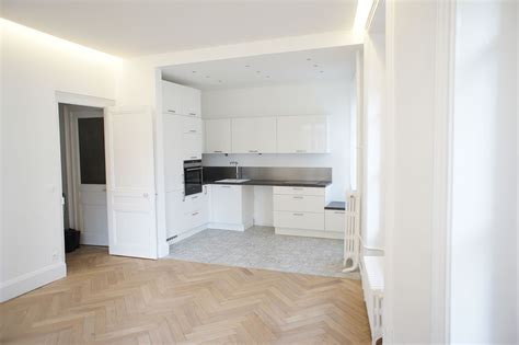 renovation cuisine lyon rénovation appartement lyon 3 bellecour batiart création