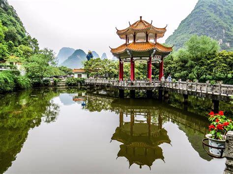 Yangshuo, Guilin, China - Dragon Cave entrance, Yangshuo ...