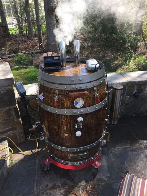 wine barrel smoker  dormansvilledesign  etsy great
