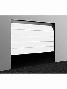 porte de garage sectionnelle plafond motorisee l 2400 x h With porte garage motorisee