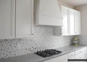 kitchen backsplash photos white cabinets pearl countertop white glass metal backsplash