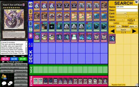 Yu Gi Oh Deck Creator 20 High Resolution Wallpaper