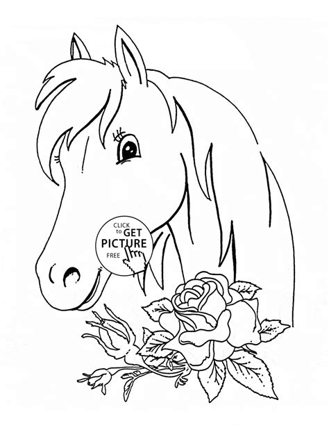 picture to coloring page 46 printable horses coloring pages 42 coloring