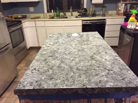 painted laminate countertops    granite