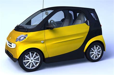 Small Car Smart 3d C4d