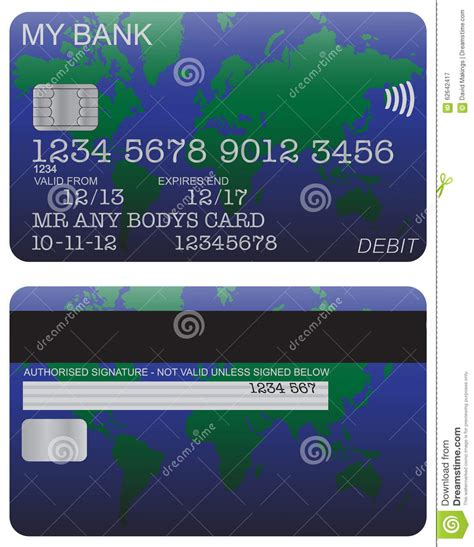 Check spelling or type a new query. Debit Card Detail World Map Stock Illustration - Image: 62642417