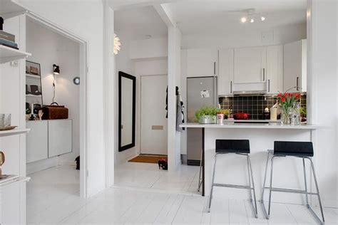 cuisine ouverte sur salon petit espace cuisine ouverte sur le salon 9 idées d