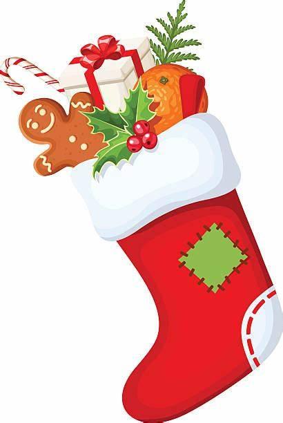 Christmas Stocking Illustrations Vector Clip Sock Illustration