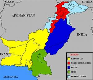 Divisions Of Pakistan