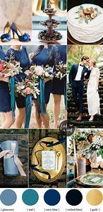 Fall wedding colors with blue and teal color palette