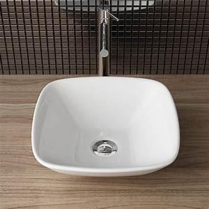 Gäste Wc Design : design keramik aufsatzwaschbecken waschschale ~ Michelbontemps.com Haus und Dekorationen