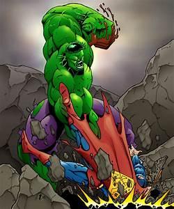 Hulk vs. Supes by Jrascoe on DeviantArt