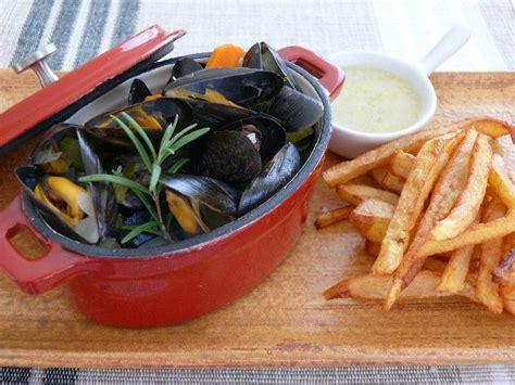 recette moules marinieres sauce au roquefort