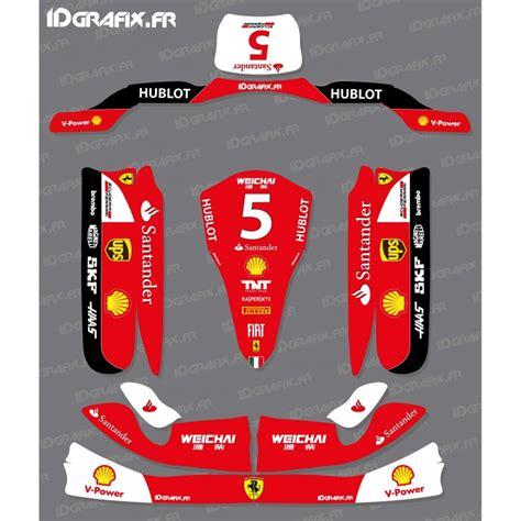 kit d 233 co 100 perso scuderia f1 pour karting tony kart m4 kit de