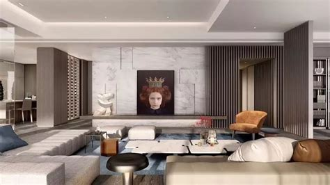 昆明最新地标豪宅,特立独行的超现实幻想美学! G ART集艾设计 建e室内设计网 设计案例 Room Home decor Furniture