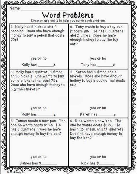 money word problems projects to try pinterest word