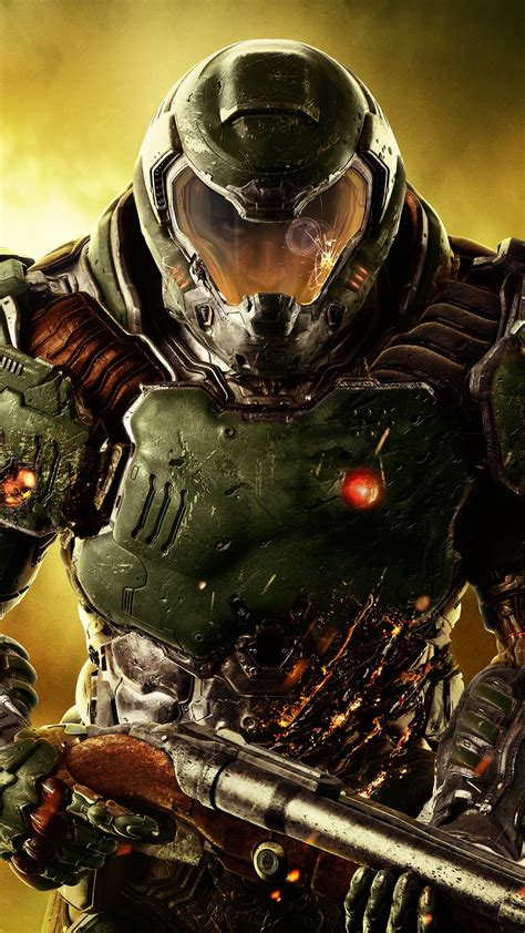 wallpaper doom marine doom pc ps xbox games