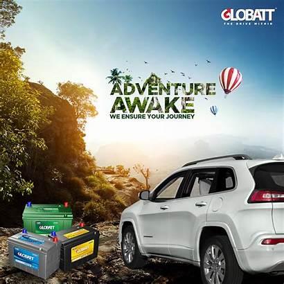 Battery Advertising Behance