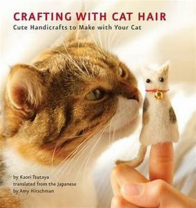 Seven Creative  Crafty Uses For Cat Hair