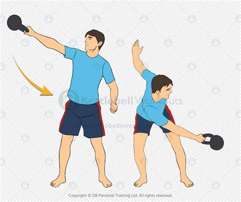 kettlebell swing swings lateral exercises exercise side