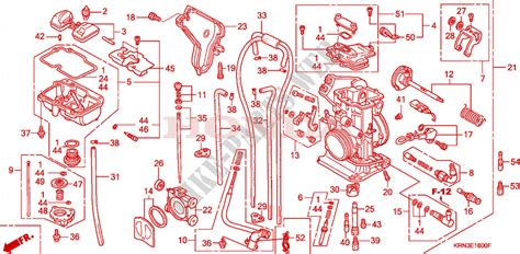 carburateur crf   red crfr  europe