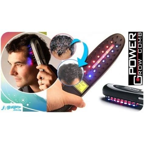 light therapy hair growth comb power grow comb kit laser hair comb kit for growth