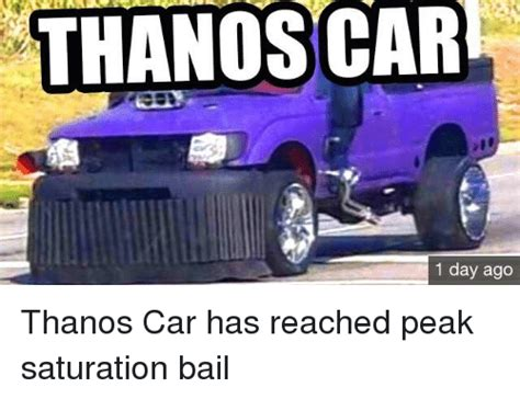 Thanos Car 1 Day Ago  Thanos Meme On Meme
