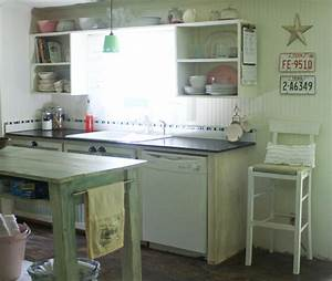 small kitchen makeover in a mobile home With small mobile home kitchen designs