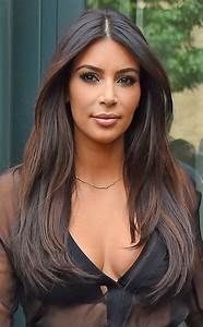 Kim Kardashian from Fall 2014 Hair Color Inspiration ...