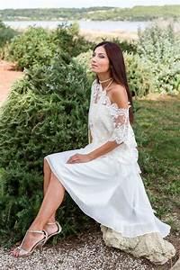 Robe Boheme Courte : robe de mari e courte style boh me mariage robe mariee ~ Melissatoandfro.com Idées de Décoration