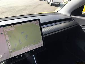 Yellow Tesla Model 3 that rocked 'reddit' now with tinted windows and carbon fiber dash