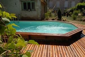 Piscine Semi Enterré Bois : piscine semi enterr e conseils prix installation ~ Premium-room.com Idées de Décoration