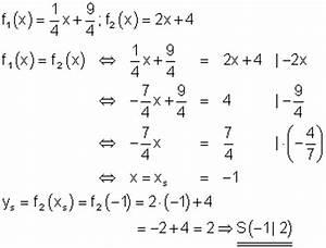 Steigung Berechnen Quadratische Funktion : l sungen lineare funktionen teil xiii ~ Themetempest.com Abrechnung