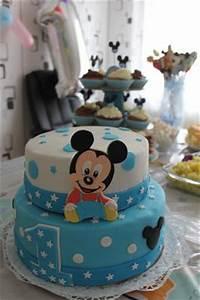 Mickey Mouse Geburtstag : baby mickey mouse torte ~ Orissabook.com Haus und Dekorationen