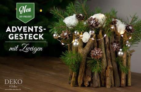 Weihnachtsgestecke Aus Holz by Deko Kitchen Sch 246 Ne Deko Selber Machen Esther Straub