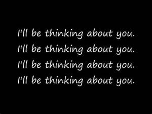 I'll be thinking about you - Calvin Harris feat Ayah Marar ...
