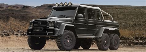 Mercedesbenz Amg G63 6x6 Gronos Off Road Vehicle By Mansory