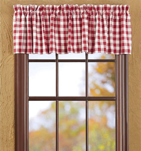 black and white checkered valance buffalo check valance white plaid country cottage