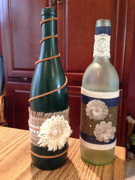 crafts with wine bottles wine bottle crafts crafts hobbies projects pinterest