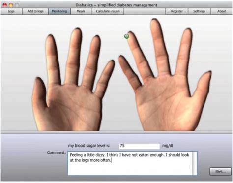 diabetes software  blood glucose monitoring
