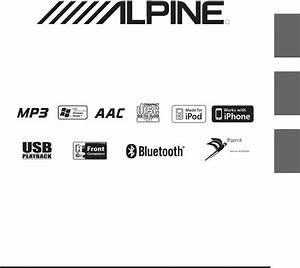 Alpine Car Stereo System Cde103bt User Guide
