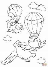Coloring Flying Sky Albatross Pinguins Pages Fly Curious Animals Printable Tales Template Learned Drawing Books Sketch Calendars Through Supercoloring sketch template