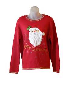 Santa Ugly Christmas Sweaters