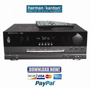 Harman Kardon Avr225 Service Manual  U0026 Repair Guide