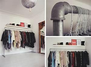 Solution Dressing Pas Cher : petit dressing solutions pratiques de rangement ~ Premium-room.com Idées de Décoration