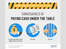 Is Paying Employees Cash Under the Table Legal?