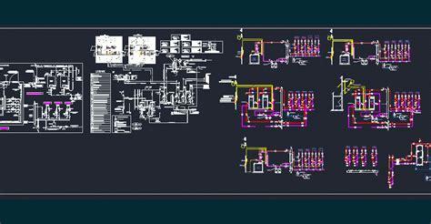schemas de principe hydraulique dwg block  autocad