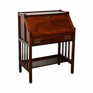 Old oak writing desk